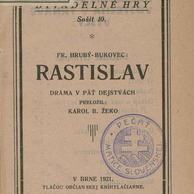 Rastislav - Hrubý, František