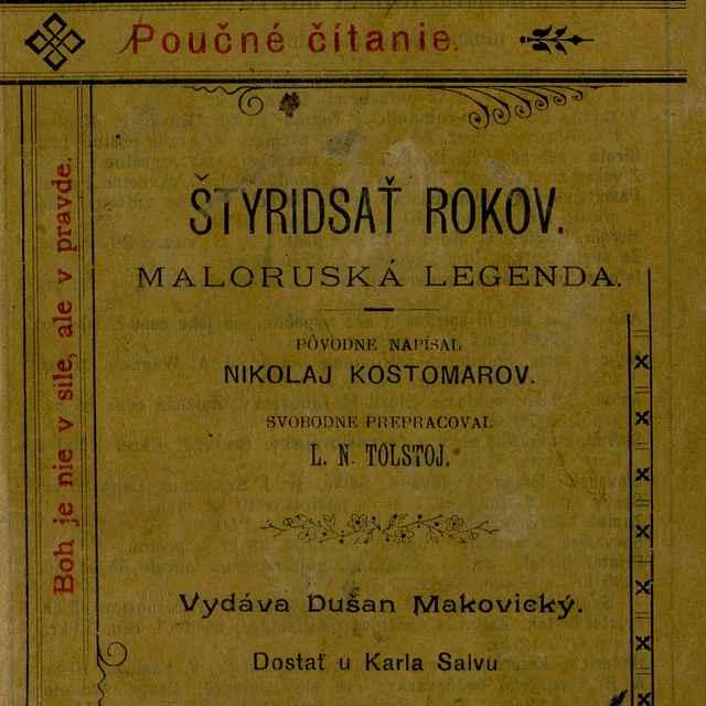 40 rokov - Kostomarov, Mykola