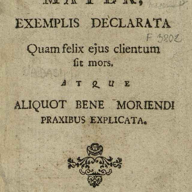 Maria Agonizantium Mater - Nádaši, Ján