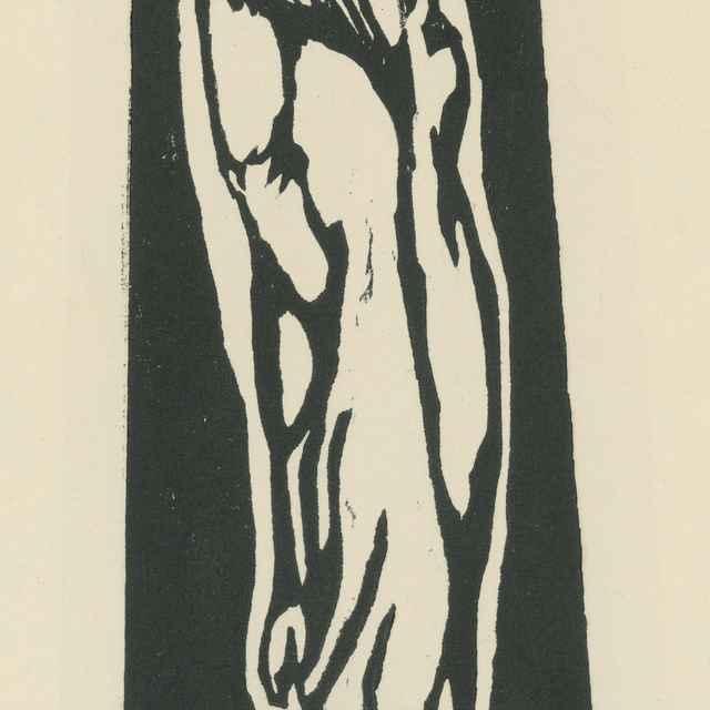 Stojace dievčatko - Gauguin, Paul