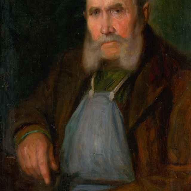 Podobizeň starého bratislavského vinohradníka Schmidta-Hanzla - Pitthordt, Ľudovít