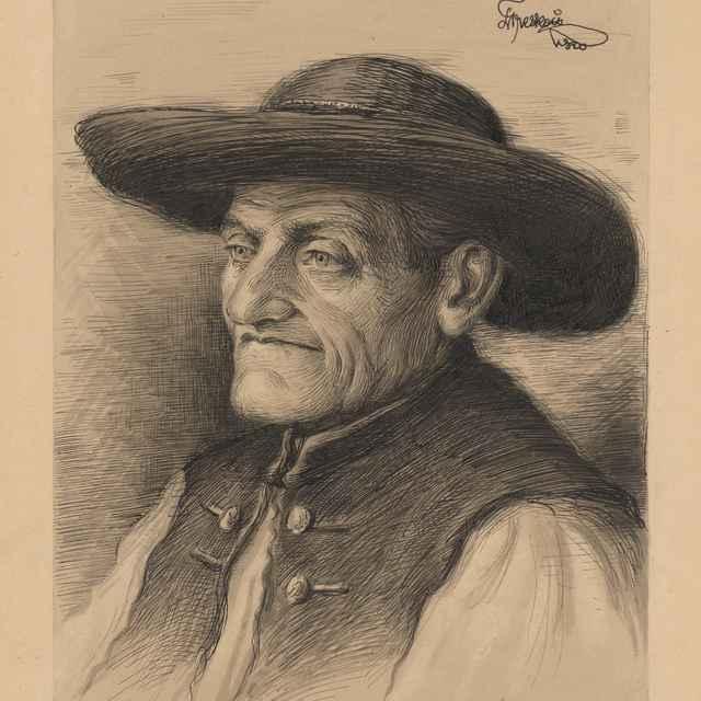Hlava starca z Nimnice - Treskoň, Ladislav