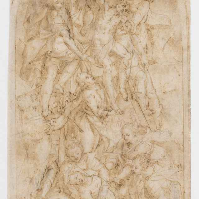 Snímanie z kríža - Taliansky majster z 2. polovice 16. storočia