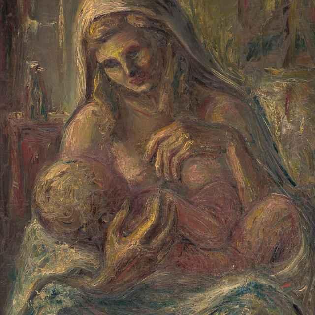 Madona s dieťaťom - Varga, Ľudovít