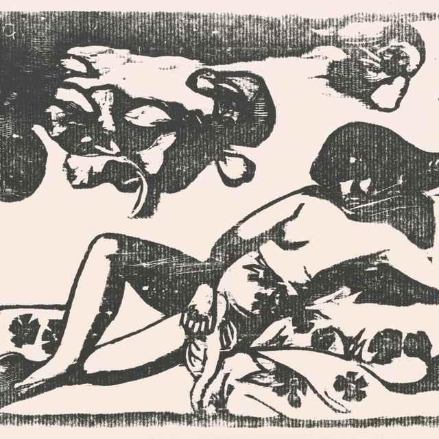 Te arii vahine - Gauguin, Paul