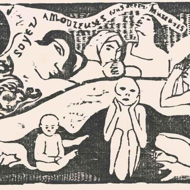 Milujte, budete šťastné - Gauguin, Paul