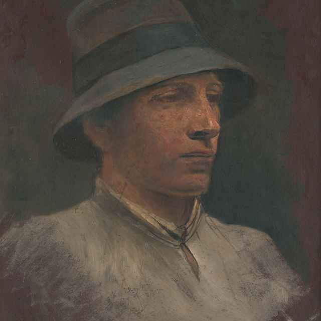 Portrét mládenca - Mednyánszky, Ladislav
