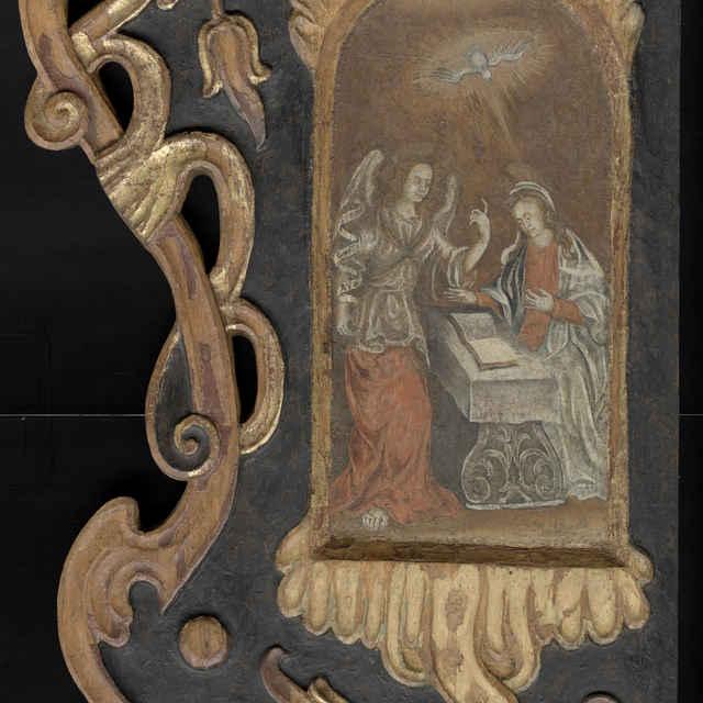 Časti barokového oltára I - neznámy (osobné meno)