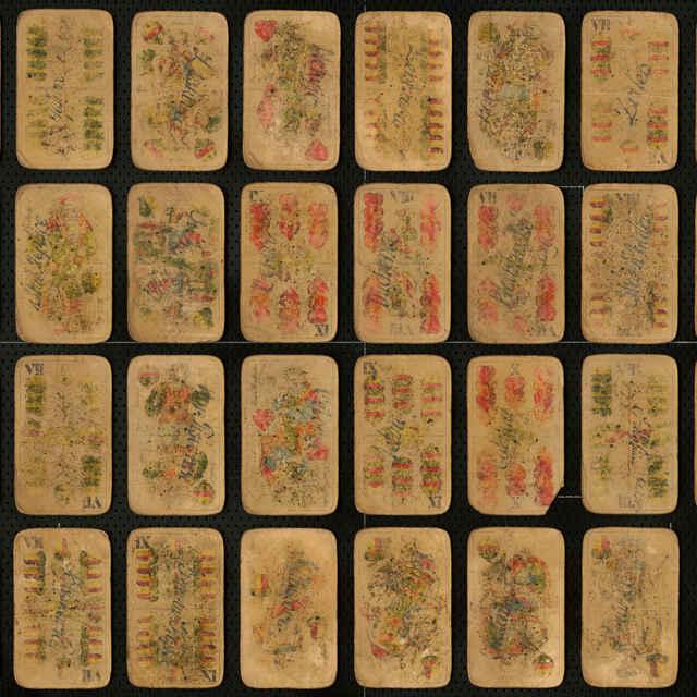 Hracie karty partizánske