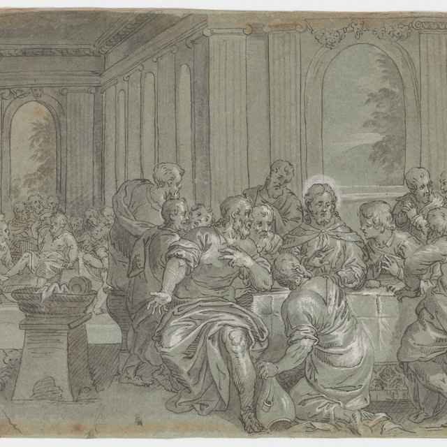 Posledná večera - Taliansky majster zo 17. storočia