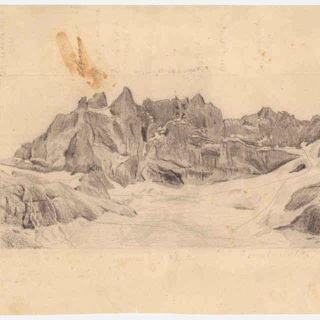 Kresba hôr od prof. Alfréda Grosza - Grosz, Alfréd