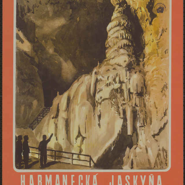 Plagát Harmanecká jaskyňa Izbica