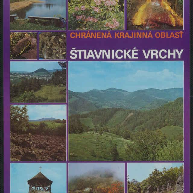 Plagát Chránená krajinná oblasť Štiavnické vrchy