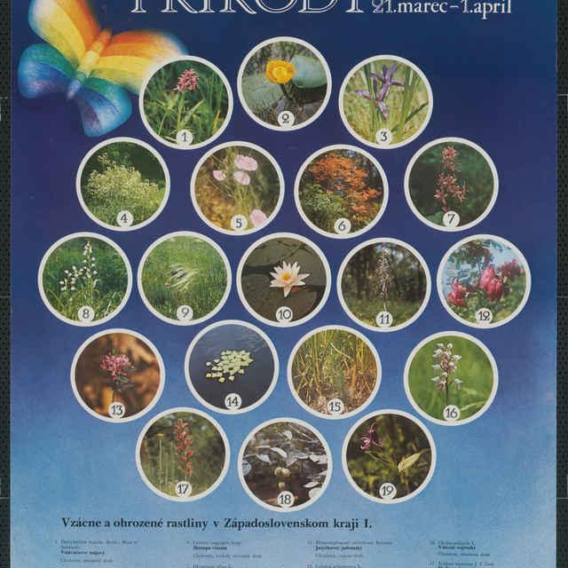 """Plagát """"Dni ochrany prírody 21. marec - 1. apríl"""""""