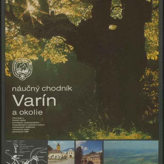 Plagát Náučný chodník Varín
