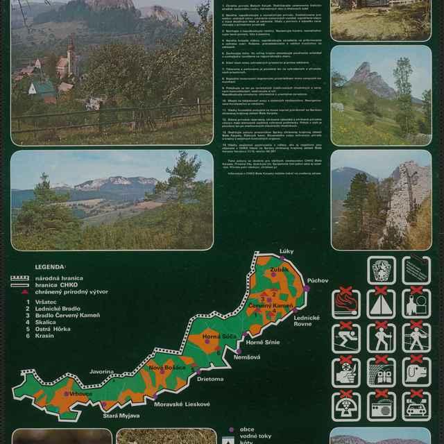Plagát Chránená krajinná oblasť Biele Karpaty