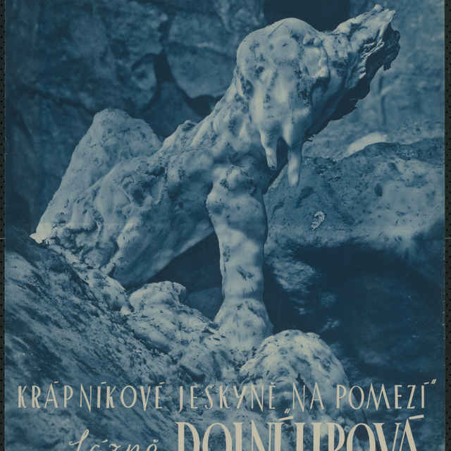 Plagát Krápníkové jeskyně Na Pomezí