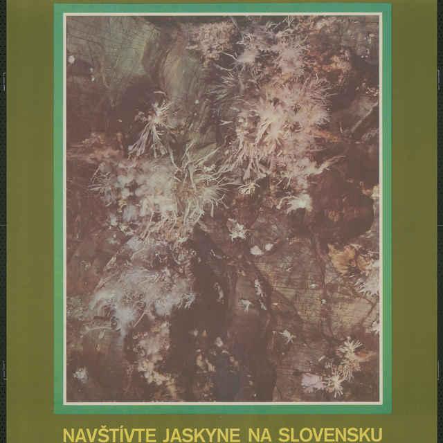 """Plagát """"1975 Medzinárodný rok ochrany jaskýň"""""""