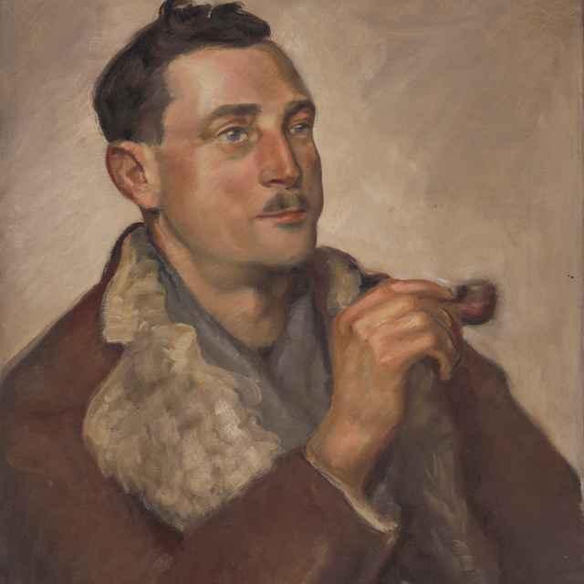 Portrét muža s fajkou - Kasriel, Herman
