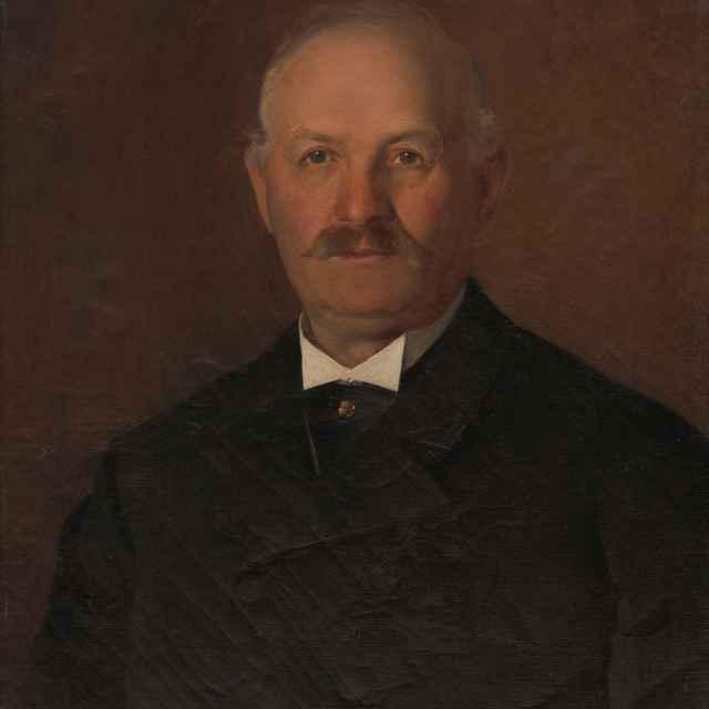 Portrét staršieho muža - Skutecký, Dominik - Výtvarné umenie