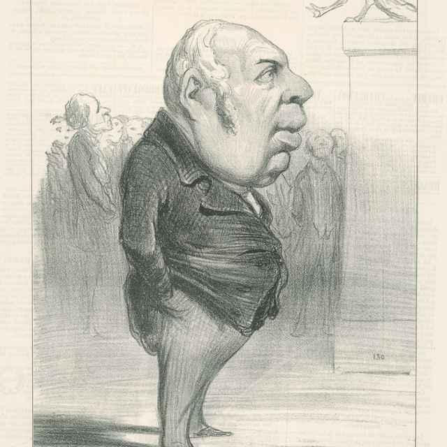 Berryer - Daumier, Honoré