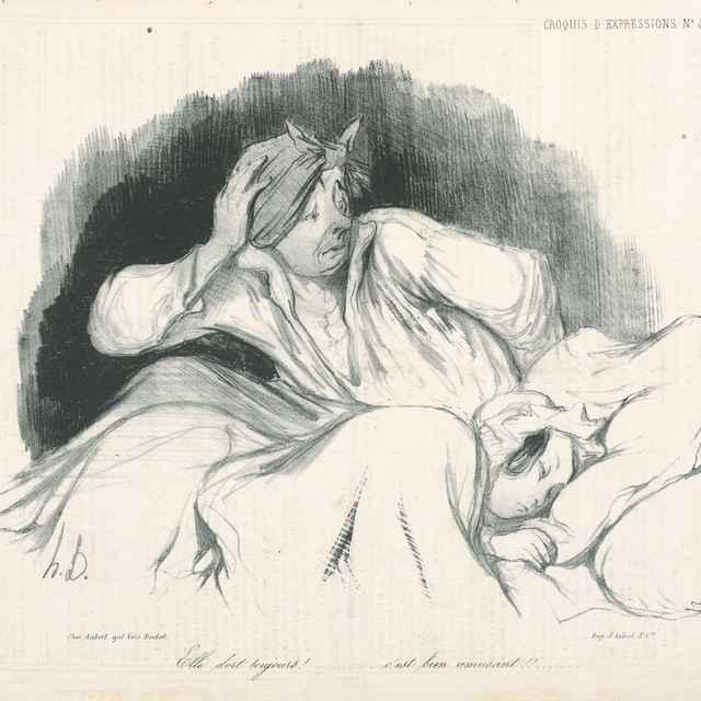 Noc - Daumier, Honoré