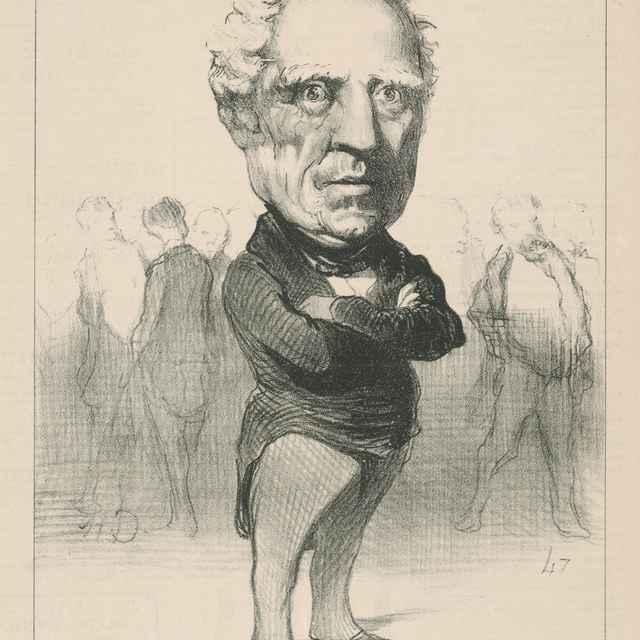 Bugeaud - Daumier, Honoré