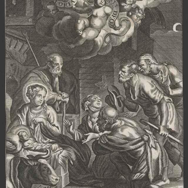 Klaňanie pastierov - Gottlieb, Wolfgang