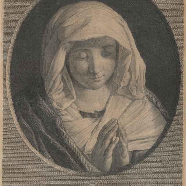 Betlehemská madona - Schmidt-Glinz, Franz