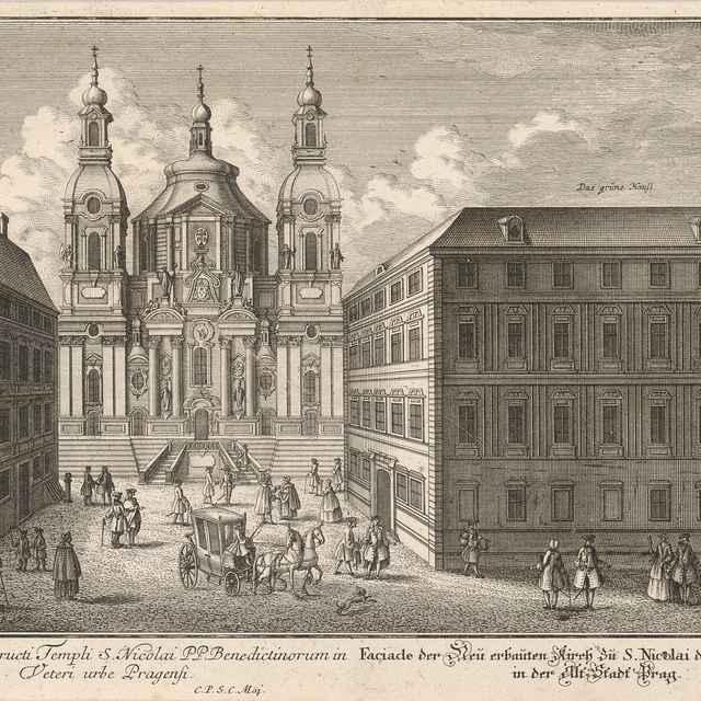 Chrám sv. Mikuláša v Starom Meste v Prahe - Ringle, Johann Georg