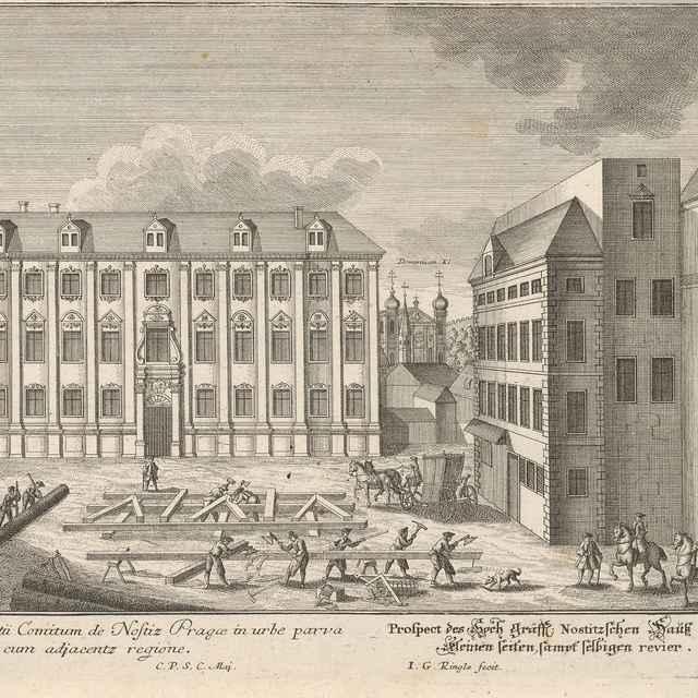 Nostický palác v Prahe - Ringle, Johann Georg