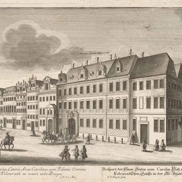 Kolovratský palác v Prahe - Ringle, Johann Georg