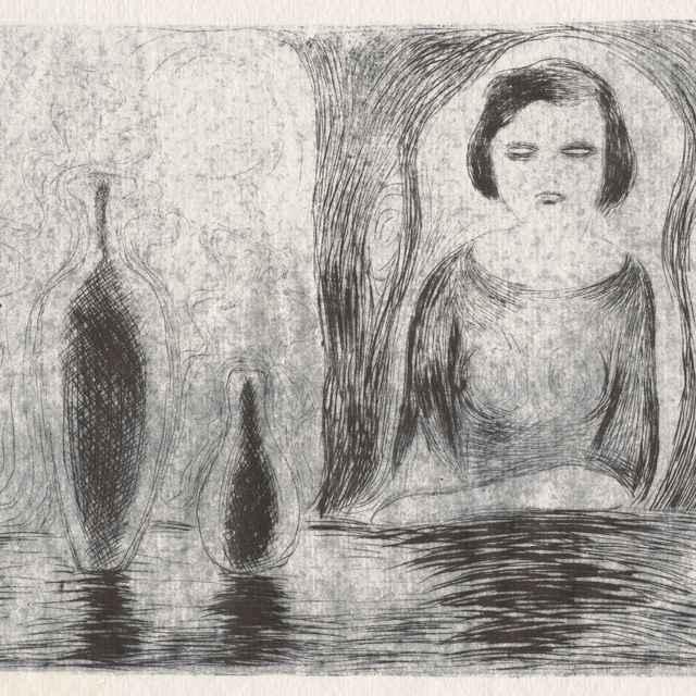 Žena s vázami - Galanda, Mikuláš