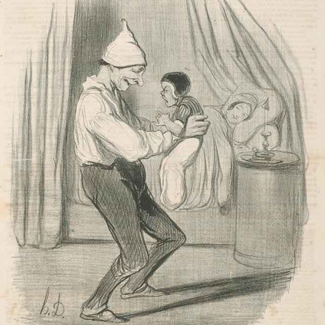 Podobnosť - Daumier, Honoré