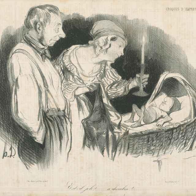 Nadšenie - Daumier, Honoré