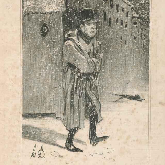 Ah, vlasť - Daumier, Honoré