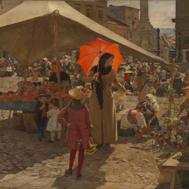 Trh v Banskej Bystrici - Skutecký, Dominik - Výtvarné umenie