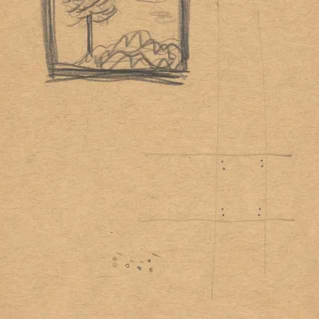 Kresba krajiny so <u>stromom</u>