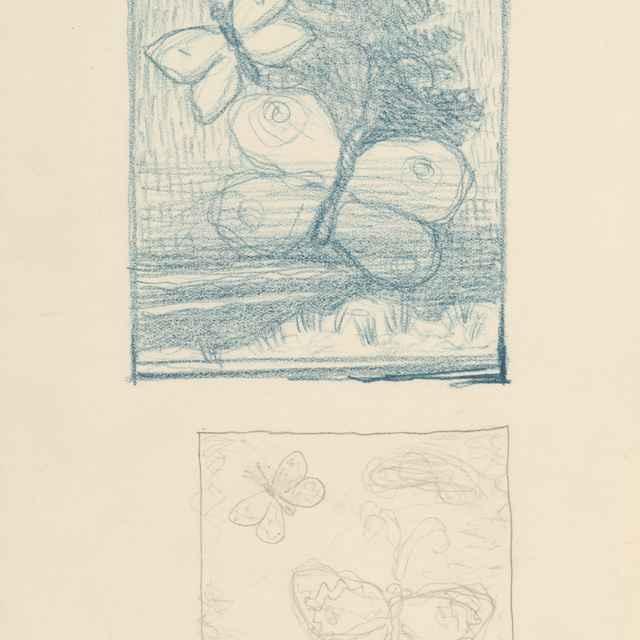Dve kompozície s motýľom - Galanda, Mikuláš