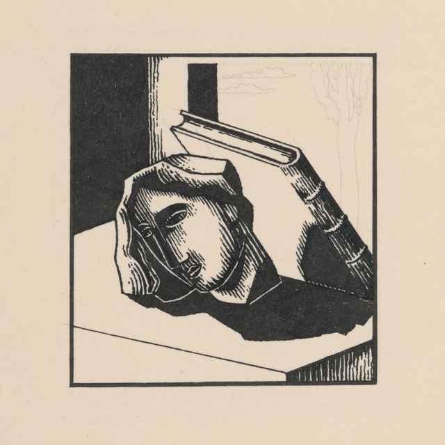 Hlava s knihou - Galanda, Mikuláš