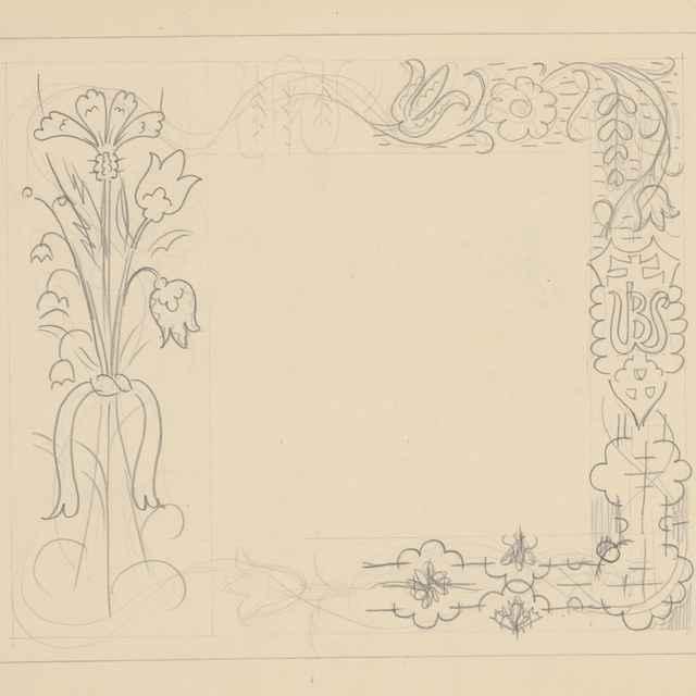 Ornamentálna štúdia - Galanda, Mikuláš