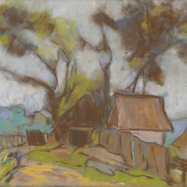 Chalupa so stromami - Palugyay, Zolo