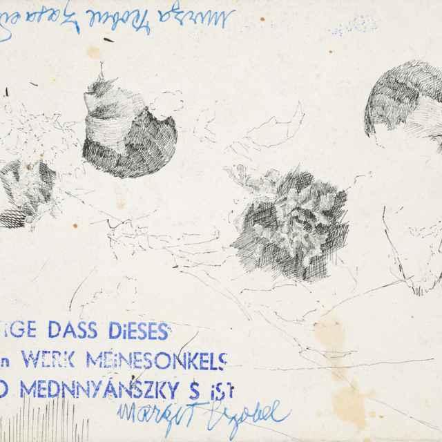 Štúdia stromov - Mednyánszky, Ladislav