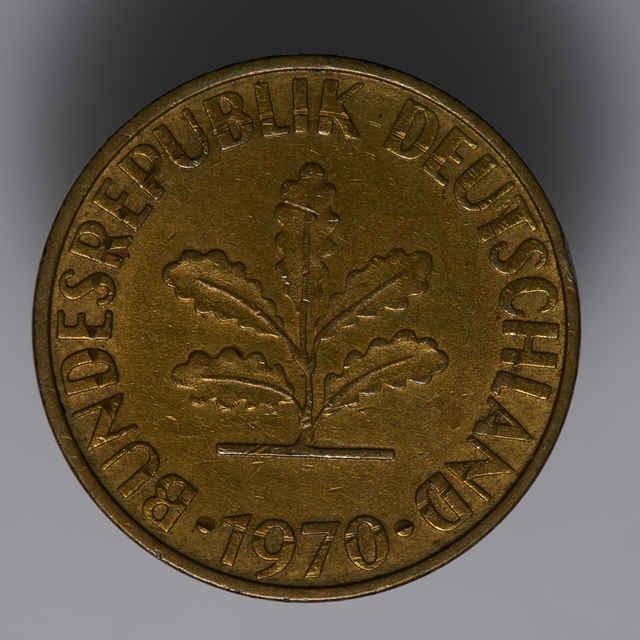 Minca 10 pfennig (flóra)