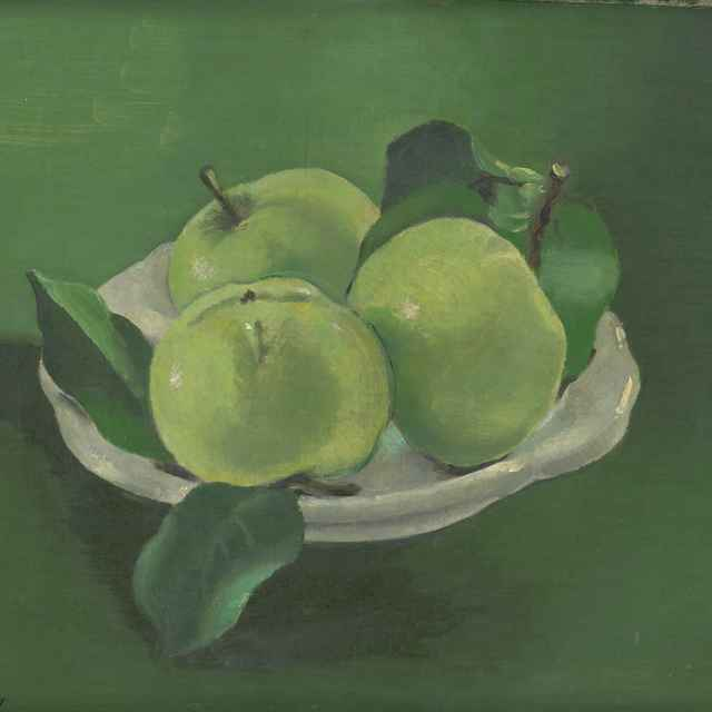 Zátišie s jabĺčkami - Galanda, Mikuláš