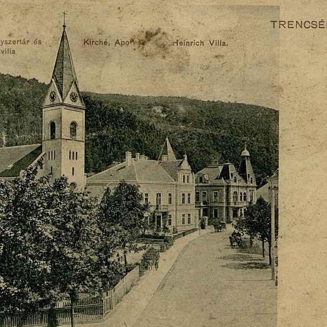 Trencsén - Teplicz