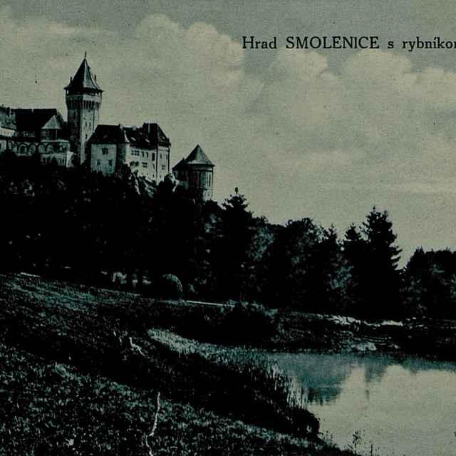 Hrad Smolenice s rybníkom - Výtvarné umenie