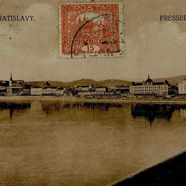 Pozdrav z Bratislavy