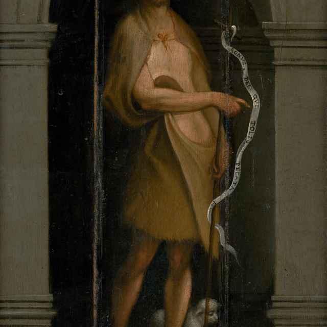 Svätý Ján Krstiteľ - Taliansky maliar z 1. polovice 16. storočia