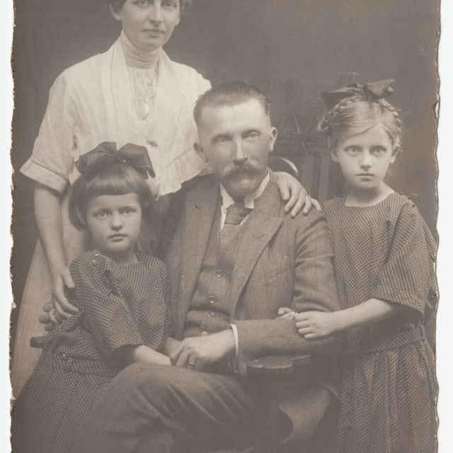Fotografia neznámej rodiny